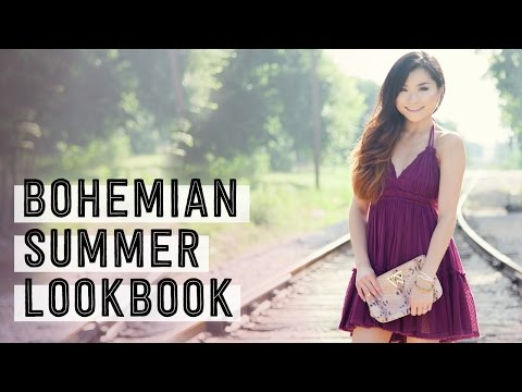 Bohemian Summer Lookbook   Beaded by W Jewelry Collaboration   Miss Louie