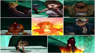 Final Fantasy VII (PS4) ALL Character Limit Breaks HD 720p