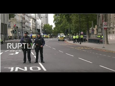 LIVE: Car hits pedestrians outside London