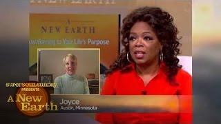 A Shopaholic Asks Eckhart Tolle How to Break Her Addiction | A New Earth | Oprah Winfrey Network