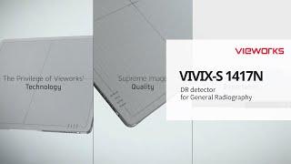 Vieworks' Flat Panel Detector, VIVIX S 1417N (뷰웍스 엑스레이 평판형 디텍터, VIVIX-S 1417N)