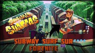 SUBWAY SURF ON FORTNITE / CODE: 9767-1594-0717