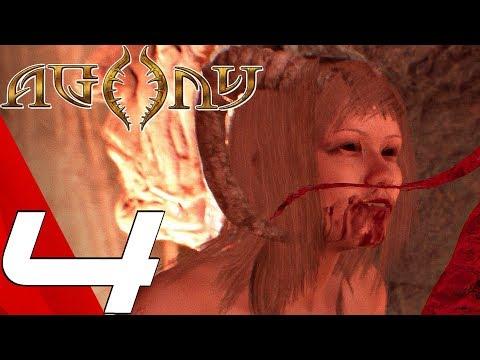 AGONY - Gameplay Walkthrough Part 4 - Red Goddess (Full Game) Ultra Settings