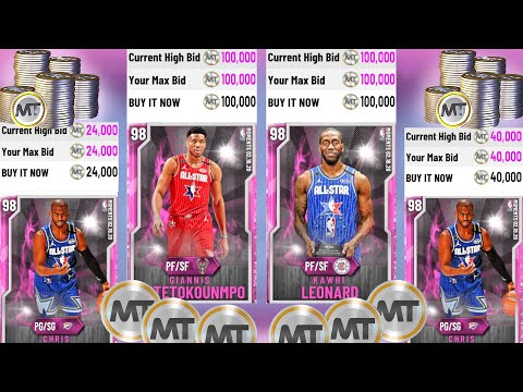 BEST ALL STAR SNIPE FILTERS TO USE TO MAKE TONS OF MT PROFIT! NEW PD GIANNIS, KAWHI & CP3 FILTERS!