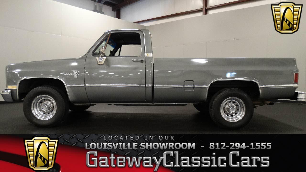 1986 Chevrolet C20 - Louisville Showroom - Stock # 1088 - YouTube