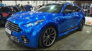 Infiniti FX50S EvoTech Motorsports - Exterior Walkaround - Moscow Tuning Show 2014