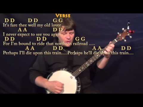 Man of Constant Sorrow - Banjo Cover Lesson in D with Chords/Lyrics