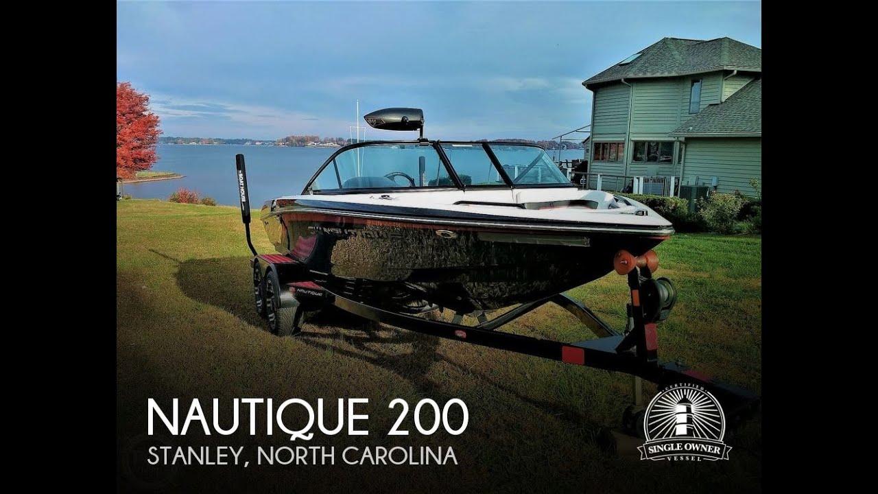 Sold Used 2012 Nautique Ski 200 Ob Mapple Icon Edition In Stanley North Carolina Youtube