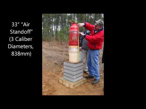 Nitrex Explosives Engineering - UNDERWATER SHAPED CHARGE DEMO