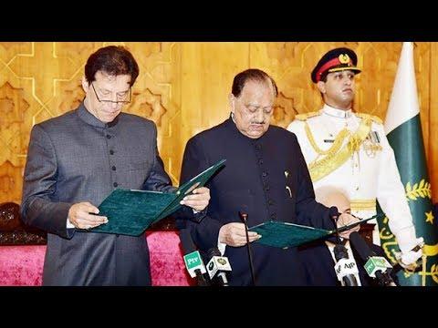 Imran Khan sworn in as prime minister of Pakistan
