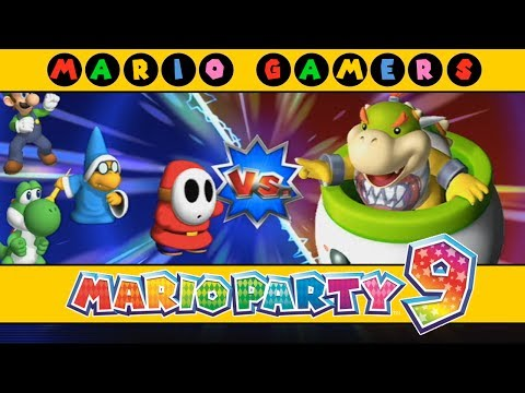 Mario Party 9 - Bowser Station (Luigi, Shy Guy, Magikoopa & Yoshi) - Solo Mode