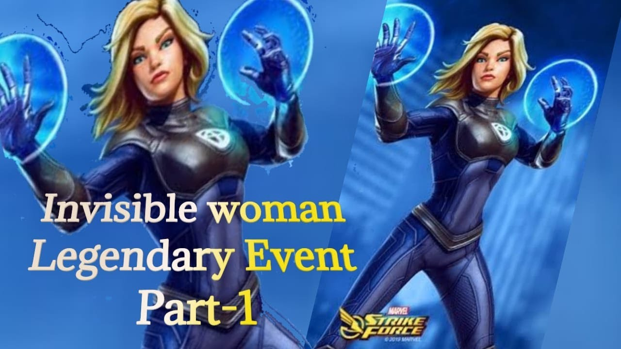 Invisible Woman (IW) Legendary Event Details Part-1 - YouTube