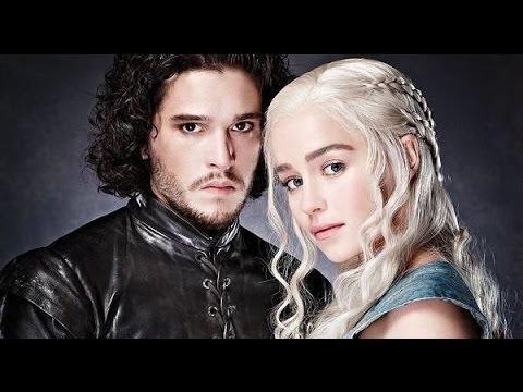 Game Of Thrones The Song Of Ice Fire Jon Snow Daenerys Targaryen Tribute