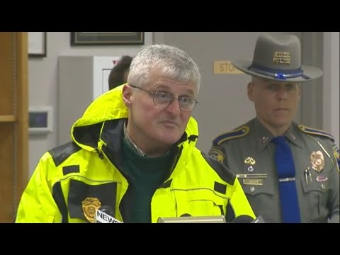 Web Extra: DEEP, Connecticut State Police, Tolland officials discuss Hazmat situation on Interstate