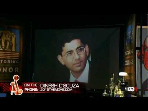 2016 Movie & Barack Obama's America w/ Dinesh D'Souza & Glenn Beck Radio Unmaking USA