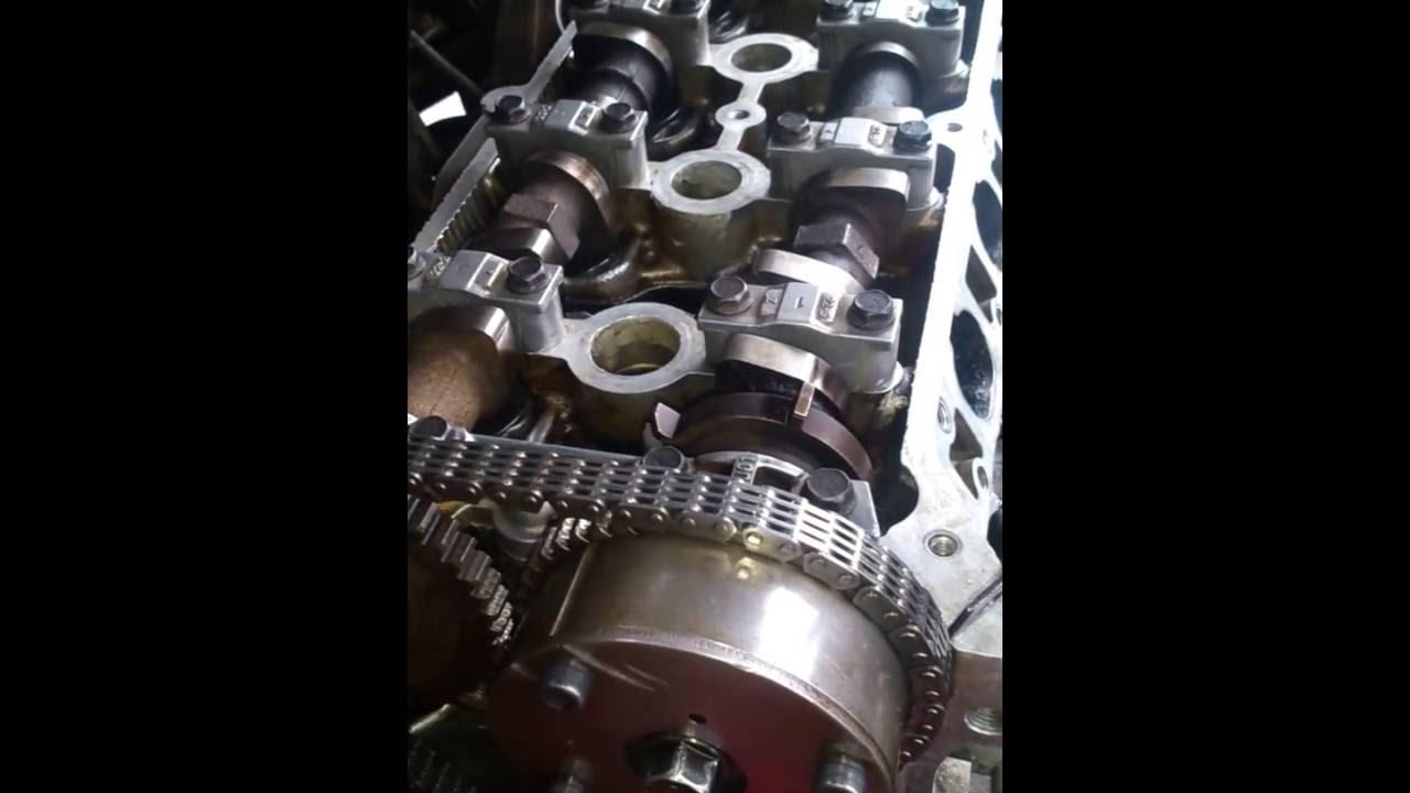 Colocar cadena de tiempo mazda 3 motor 1.6 - YouTube