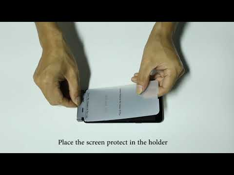 hydrogel-screen-protector-installation
