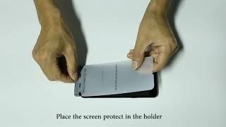 Hydrogel Screen Protector Installation
