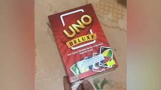 Unboxing UNO Deluxe