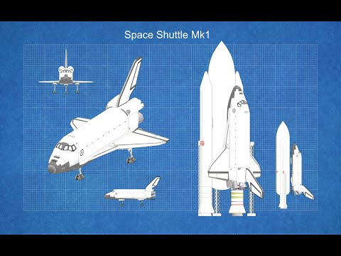 Kerbal Engineering - How to build a Space Shuttle