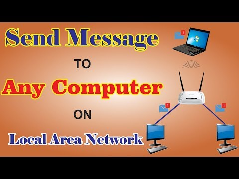 Chat With Any Computer On Local Area Network (local Wifi)