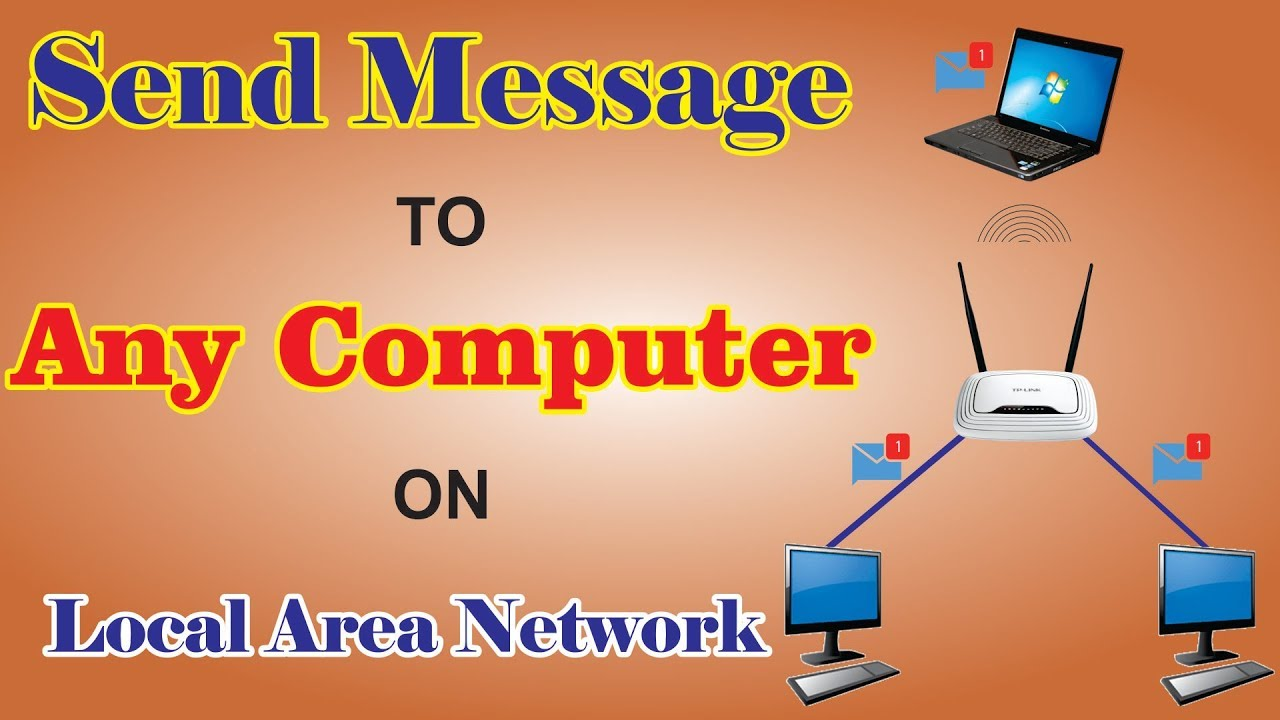 LAN chat application for your network.  How to make chats and send messages?