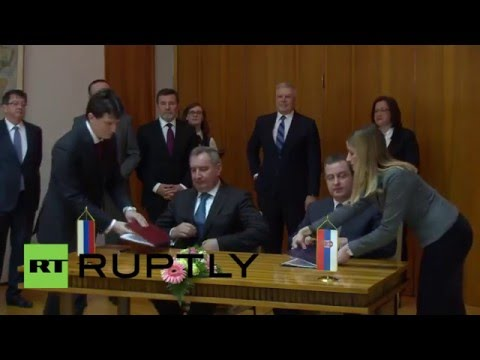 Serbia: Rogozin and Serbian FM bolster trade ties at Russo-S