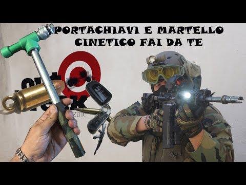 Portachiavi + Martello Cinetico FAI DA TE