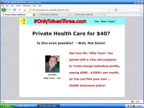 Private Health Care for $40?