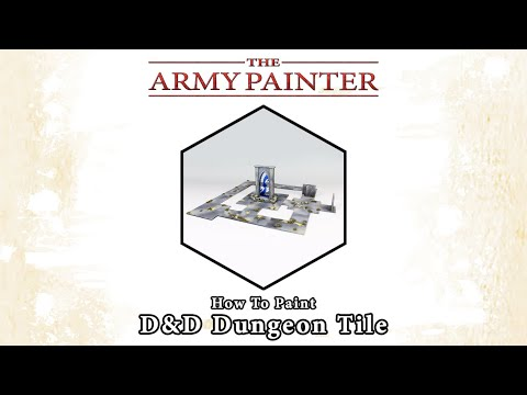 How To Paint: D&D Dungeon Tile