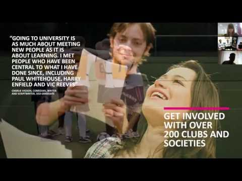 "Вебинар ""Study at the University of East Anglia with Global Education"""