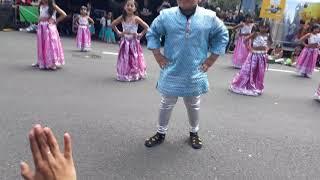 Nihar's street performance at Auckland Diwali 2017