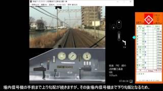 鉄道運転シミュレータ 近鉄名古屋線 特急 縛りプレイ