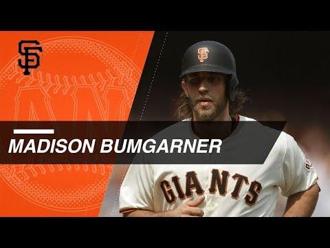 Madison Bumgarner's career home runs at the plate