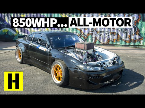 Most Savage N/A V8 Drift Build? Carl Thompson's 850hp Nissan S15