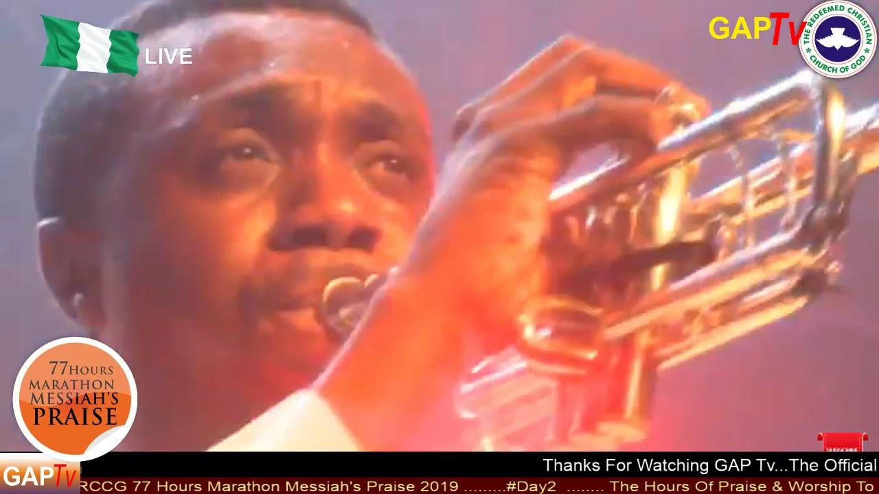 Nathaniel Bassey POWERFUL Praise @ RCCG 77 Hours MARATHON MESSIAH'S PRAISE  2019