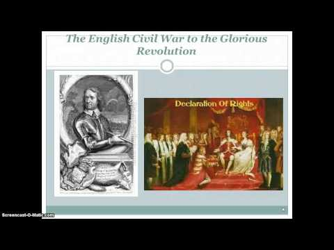 an overview of englands glorious revolution