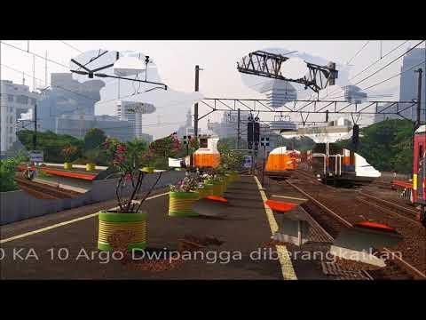 Trip Report Jakarta to Bandung with KA 22 Argo Parahyangan [1/2]