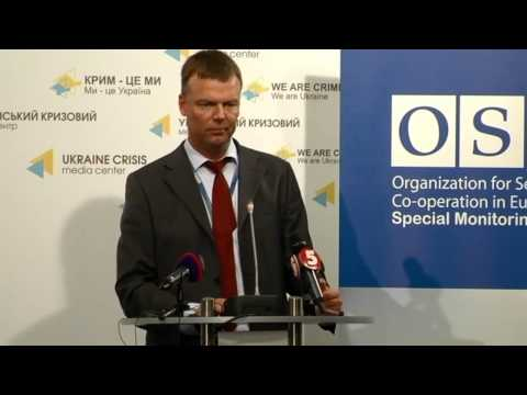 OSCE SMM. Ukraine Crisis Media Center, 9th of July 2015