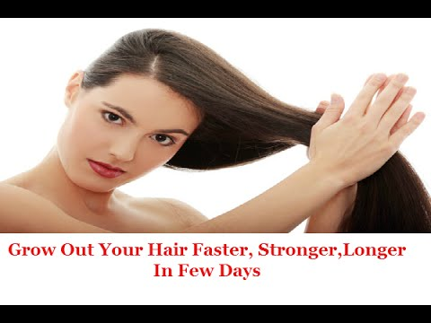 "How To Grow Out Your Hair ""Stronger Longer & Faster"""