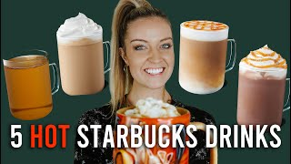 5 HOT Starbucks Drinks You Can Make at Home
