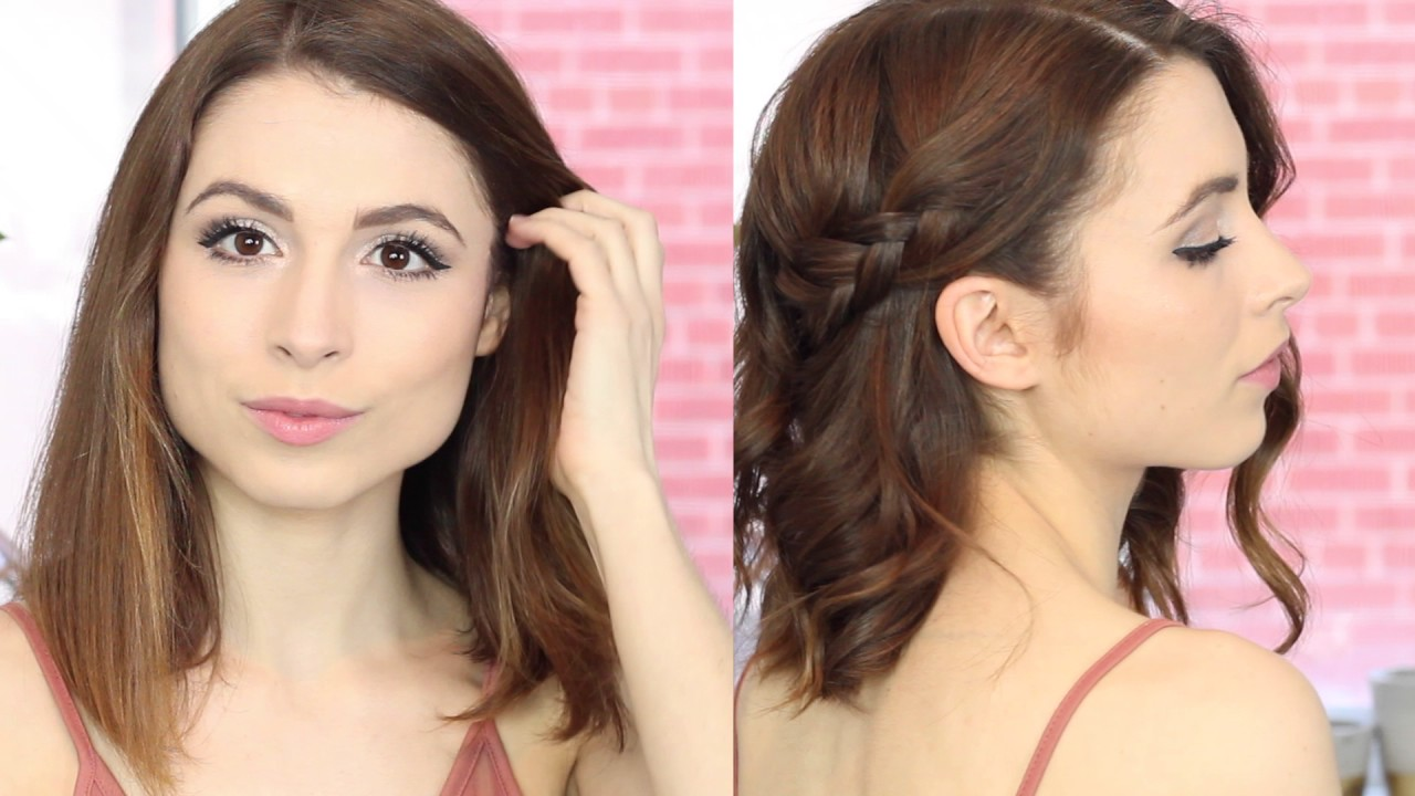 rainy day hairstyles - by chelsi madonna