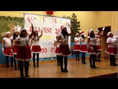 Last Christmas dance 2012
