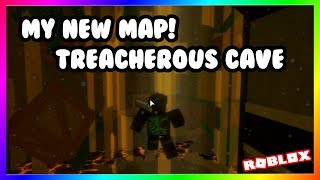 [MY NEW MAP!] Treacherous Cave [Insane] by awsomemagicmaster | Roblox FE2 Map Test