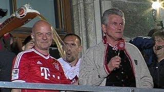 Die Meister-Rede von Jupp Heynckes auf dem Rathausbalkon | FC Bayern feiert auf dem Marienplatz