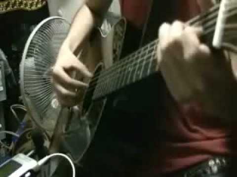 "Sheena Ringo ""Marunouchi sadistic"" on guitar 椎名林檎「丸の内サディスティック」 アコギでロック"