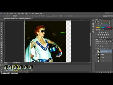 How to Animate 3D Image from Nishika N8000 in Adobe Photoshop CS6
