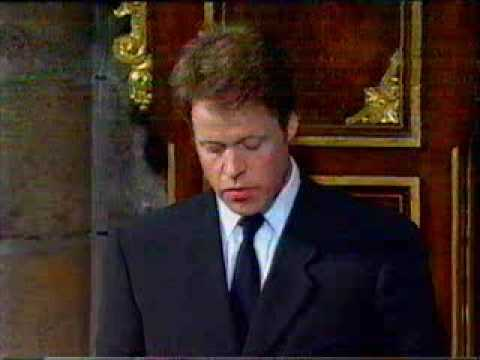 Princess Diana's Funeral Part 17: Earl Spencer's Tribute