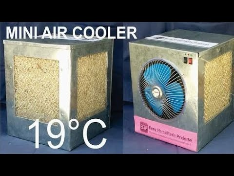 desi ac how to make homemade air cooler ac using plastic bottle homemade cooler youtube. Black Bedroom Furniture Sets. Home Design Ideas