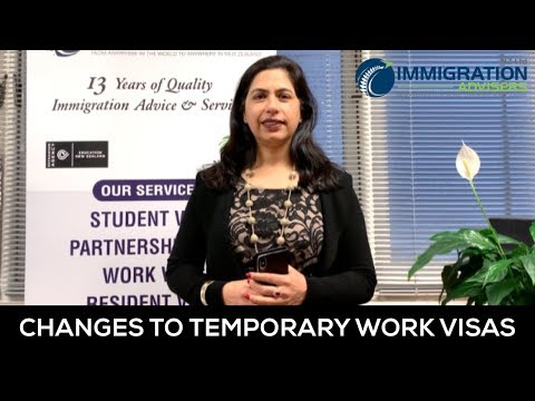 Changes to New Zealand Temporary Work Visas | FAQ | Vandana Rai